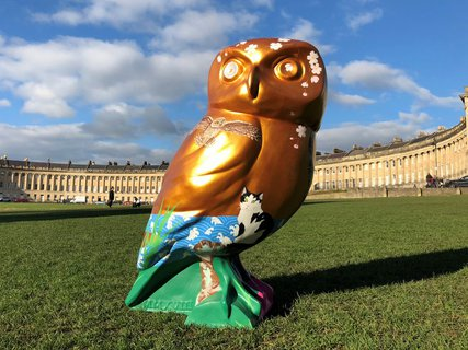 Minerva's Owls of Bath