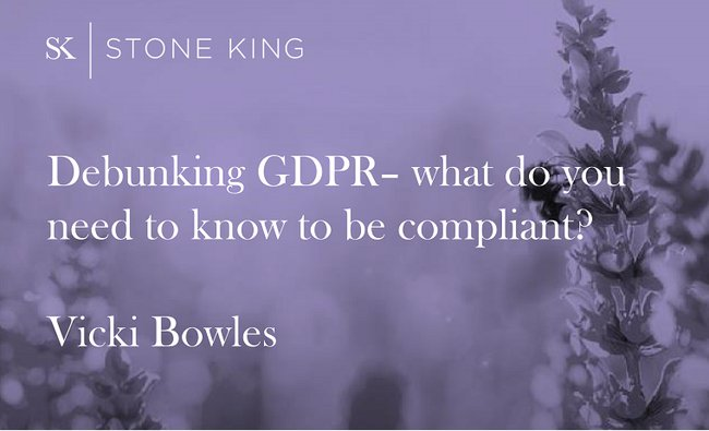 Download GDPR Slides